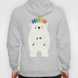 Be Brave Polar Hoody