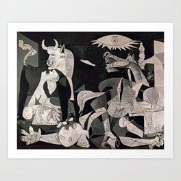 GUERNICA #1 - PABLO PICASSO Kunstdrucke