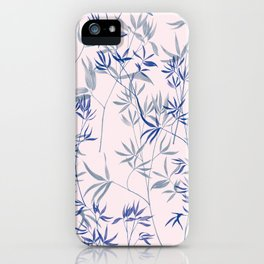 exotic blue iPhone Case