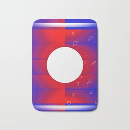 Future Moon Bath Mat