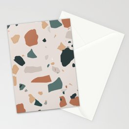 Terrazzo on earth Stationery Cards