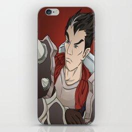 Darius Icon iPhone Skin