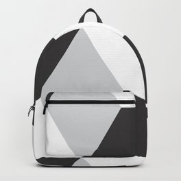 Cubism Black and White Backpack