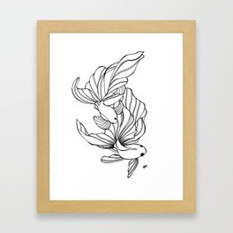 Dance of the Fighters Framed Art Print