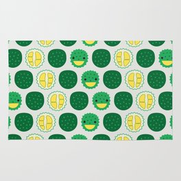 Dotty Durians II - Singapore Tropical Fruits Series Rug