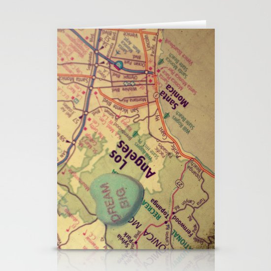 Dream Big Los Angeles Stationery Cards
