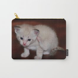 Smitten with a Kitten Carry-All Pouch