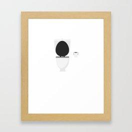 Toilet Framed Art Print