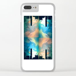 Ocean in the Sky Clear iPhone Case