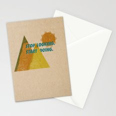 STOP LOOKING. START DOING. Stationery Cards