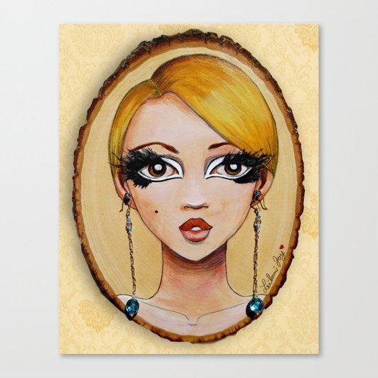 Edie Eyes Canvas Print