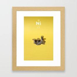 Nickel Framed Art Print