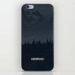 Nature / Dark iPhone Skin