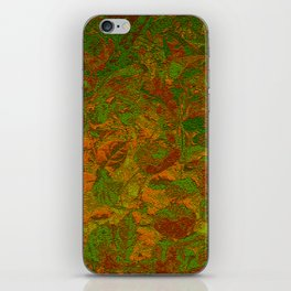 Abstract Garden iPhone Skin