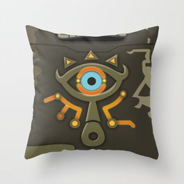 Zelda Sheikah Slate Throw Pillow