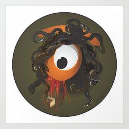 medusa's eye Art Print