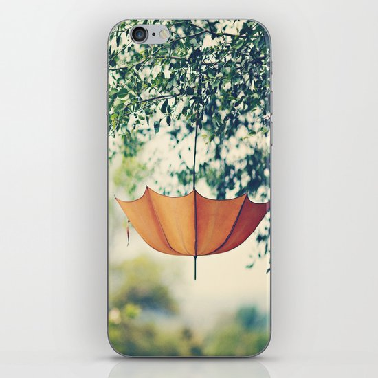Orange Umbrella  iPhone & iPod Skin