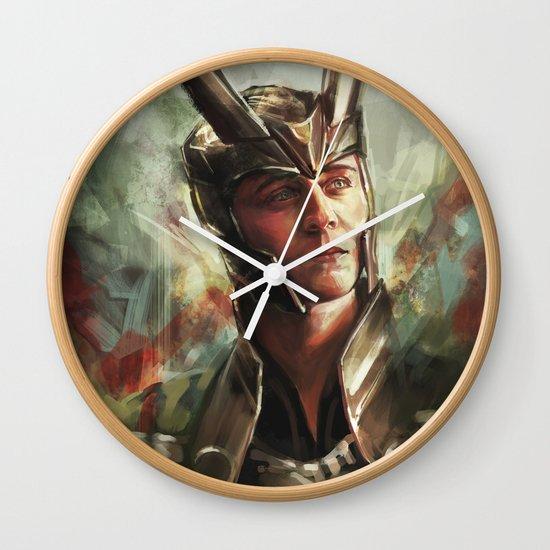 The Prince of Asgard Wall Clock