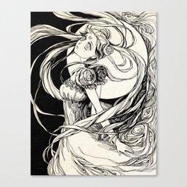 Moon princess Serenity -  Sailor Moon  Canvas Print