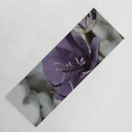Rainy Day Tibouchina Laxiflora Yoga Mat