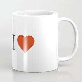 Yoda I Love Coffee Mug