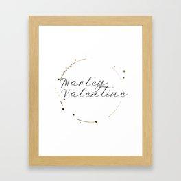Marley Valentine Framed Art Print