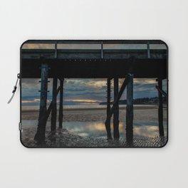 Under the pier, White Rock British Columbia Laptop Sleeve