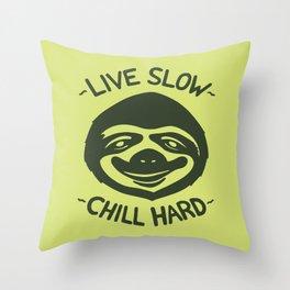 THE SLOW LIFE Throw Pillow