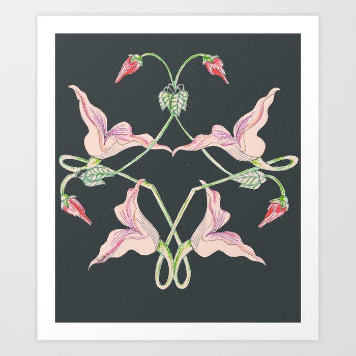 Flowers by pink floyd art print by singhbean society6 flowers by pink floyd art print mightylinksfo