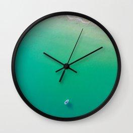 Summer Solitude Wall Clock