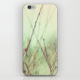 abstract nature°1 - vintage iPhone Skin