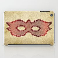 mask iPad Cases featuring Mask by Bluishmuse
