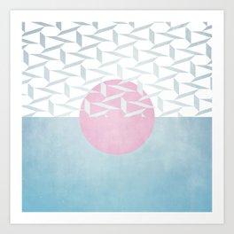 Polar Orb Art Print