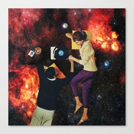 Soft universe Canvas Print