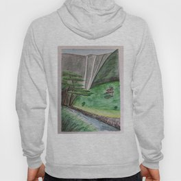 Waipi'o Valley on the Hamakua Coast of Hawaii Hoody