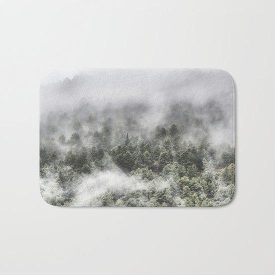 """""""Mountain light III"""". Wildderness. Mountains Bath Mat"""
