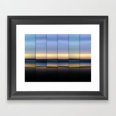 The Hour Before Darkness Framed Art Print