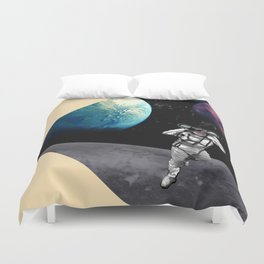 Exploration in Outer Space Duvet Cover