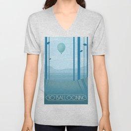 Go Ballooning Unisex V-Neck