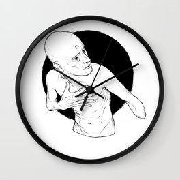 Left Handed Wall Clock