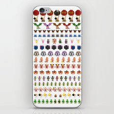 Clash of Pixels iPhone & iPod Skin