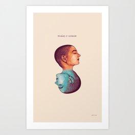 Sinead O' Conner Art Print