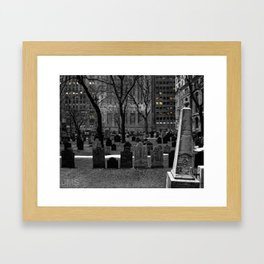 American Exchange and Trinity Framed Art Print