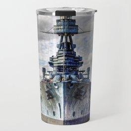 USS Texas Travel Mug