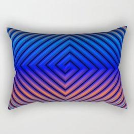 Hot Running in a Cool Breeze Rectangular Pillow