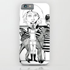 the girl, her dog and a bird iPhone 6s Slim Case