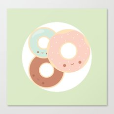 Donuts for breakfast! Canvas Print
