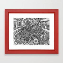 The Hidden Clockwork Framed Art Print