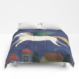 Night Pegasus Comforters