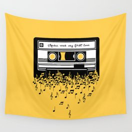 Retro Tape Wall Tapestry